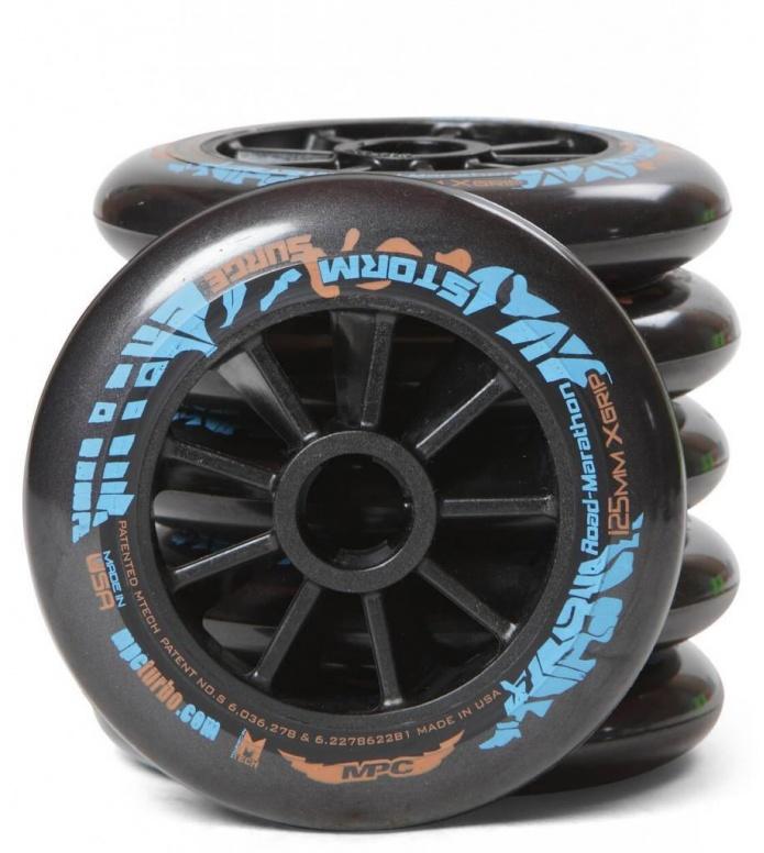 Storm Surge Wheels (Rainformula)  MPC 125er black 125mm