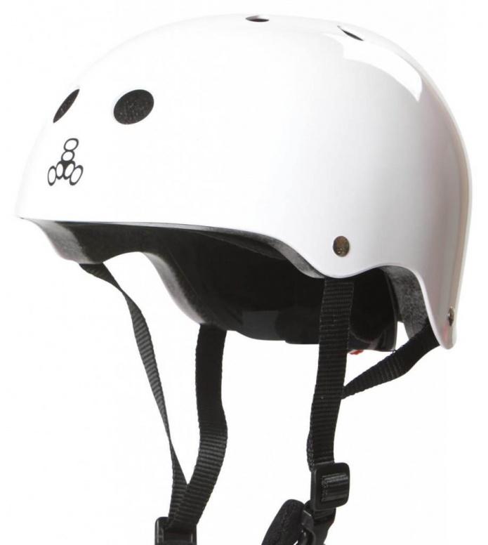 Triple 8 Triple 8 Helmet Lil 8 EPS Liner white rubber