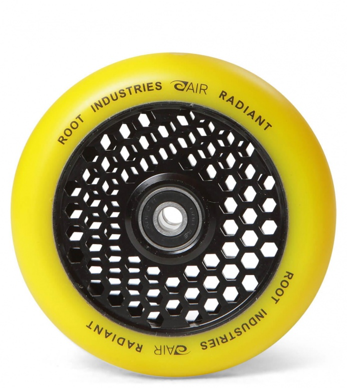 Root Industries Wheel Honeycore 110er yellow radiant 110mm