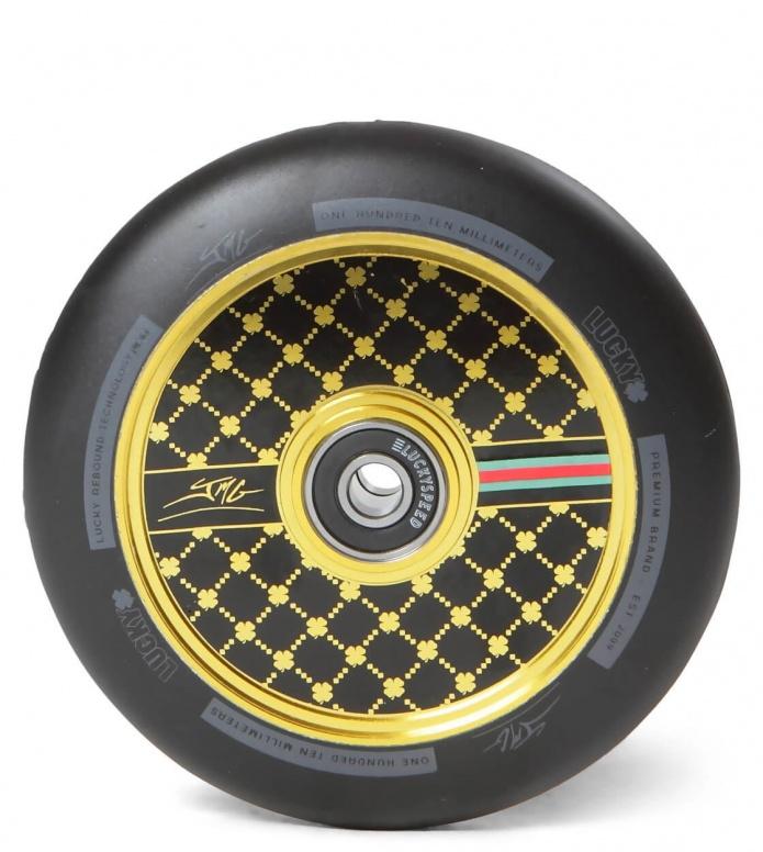 Lucky Wheel Jon Marco 2.0 Signature 110er black/gold 110mm