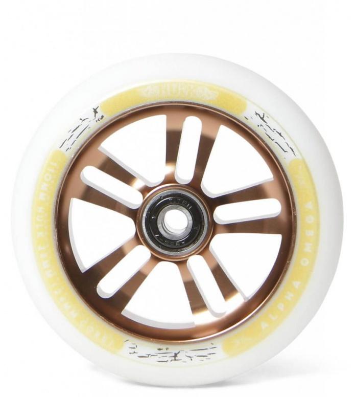 AO Wheel Hulk 110er white/gold 110mm