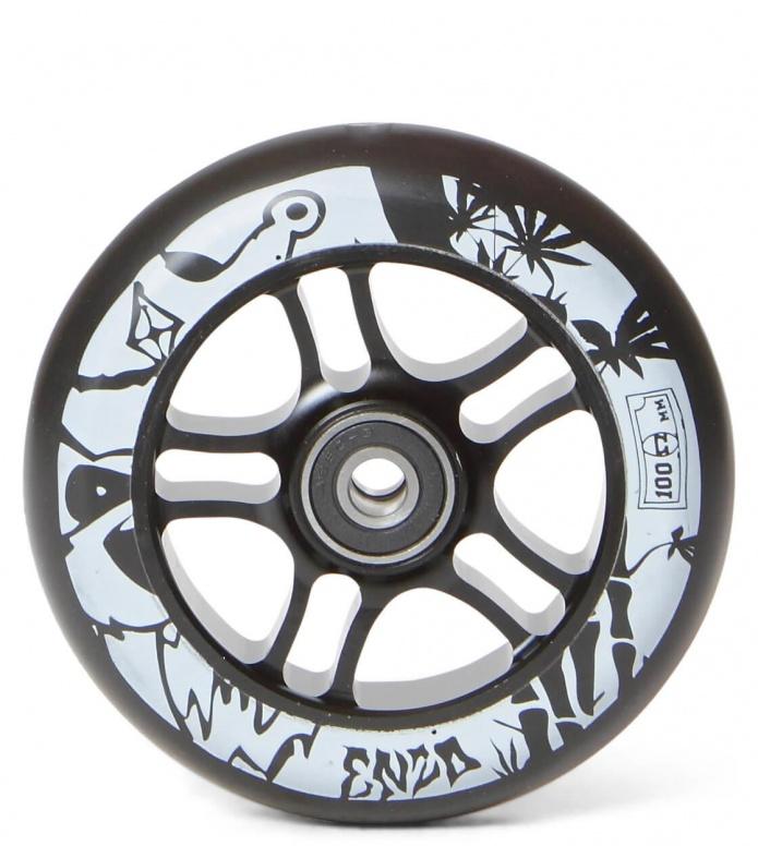 AO Wheel Enzo 100er black 100mm