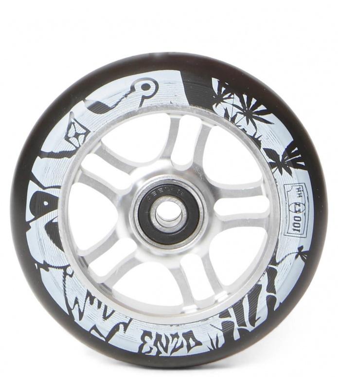 AO Wheel Enzo 100er silver 100mm