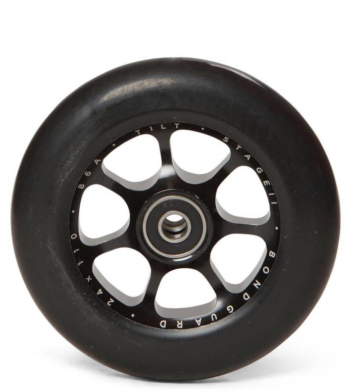Tilt Wheel Stage II 110er black 110mm