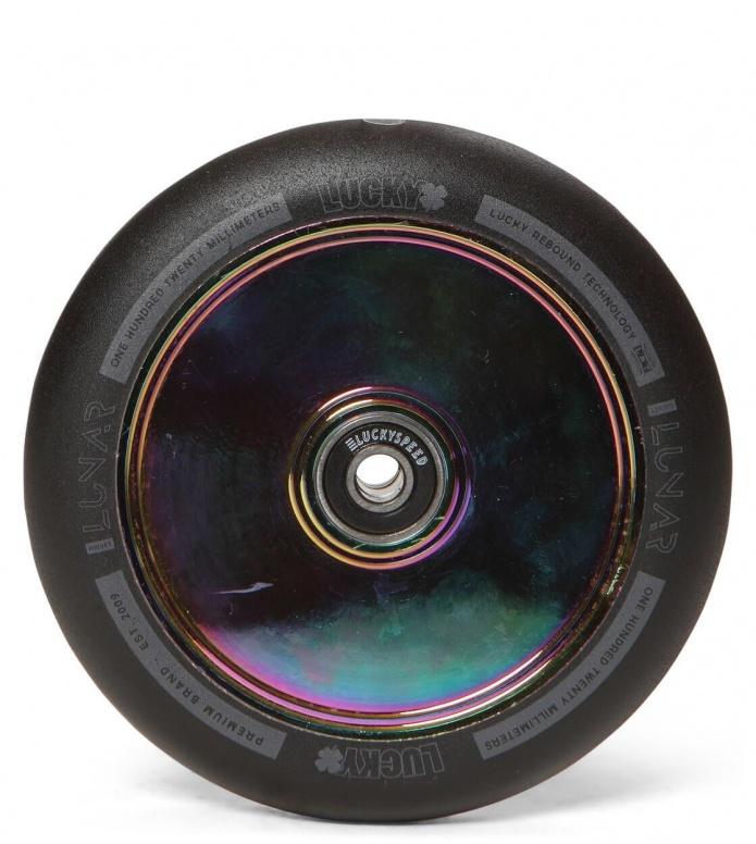 Lucky Wheel Lunar Hollow 120er rainbow/black
