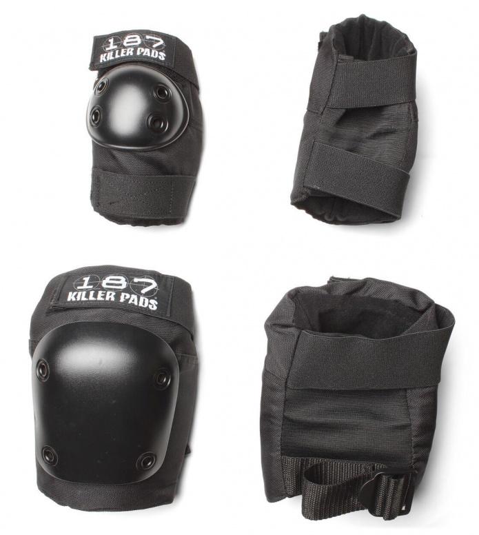 187 Killer Pads Combo Pack black
