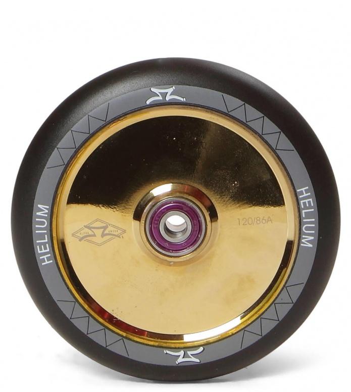 AO Wheel Helium 120er gold/black 120mm