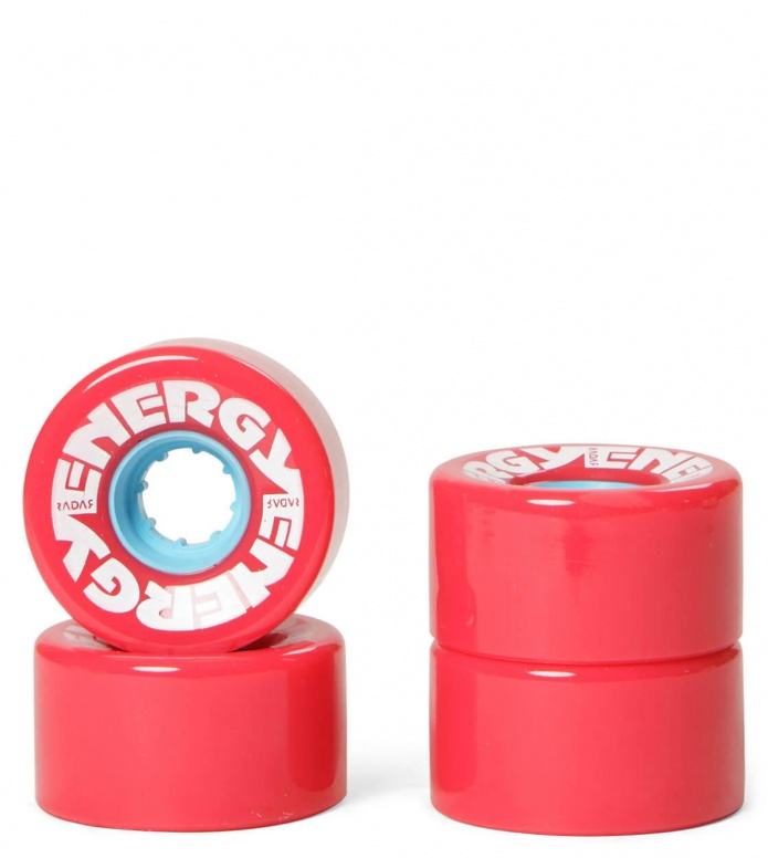 Radar Wheels Energy 57er red 57mm/78A