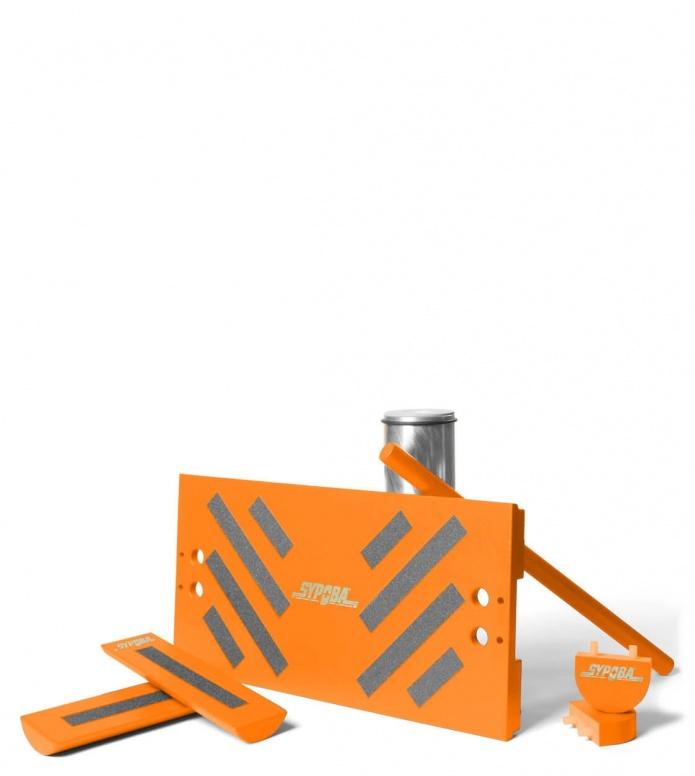 Sypoba Sypoba Balanceboard Ahtletic orange