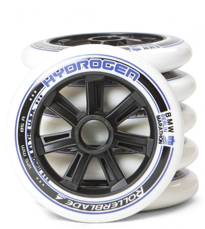 Rollerblade Wheels Hydrogen BM 125er white/blue 125mm/85A