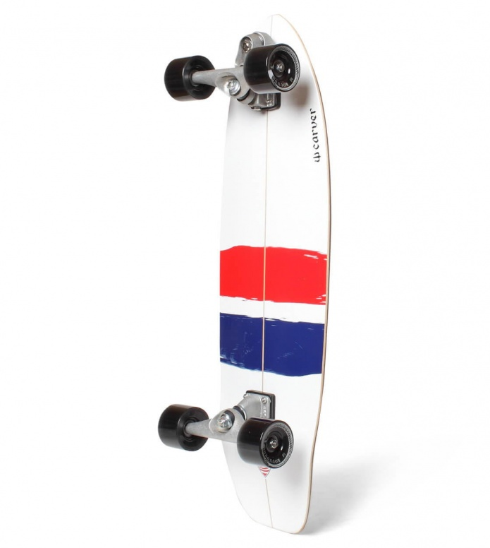 Carver Carver Surfskate USA Thruster C7 white/red/blue