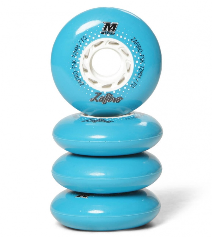 Matter Wheels F0 FSK Zafiro 72er blue 72mm/88A