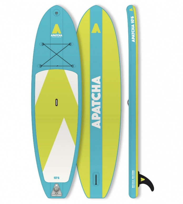 Apatcha SUP Apatcha SUP 10`6 Sky blue/green lime