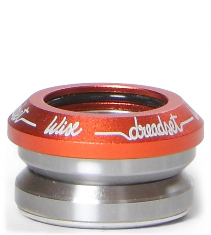 Wise Headset Integrated Dreadset orange one size