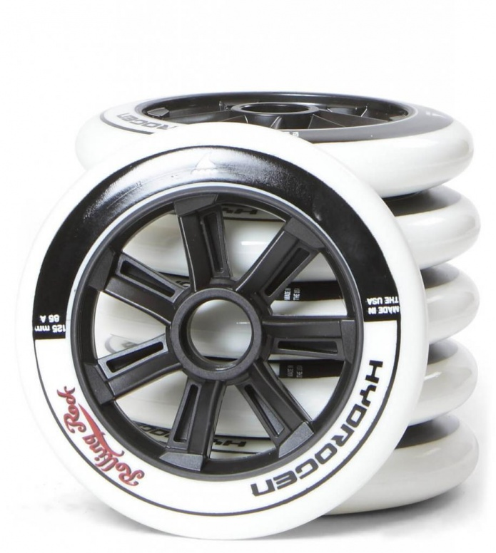 Rolling Rock Wheels Hydrogen Ed. 2 125er white 125mm/85A