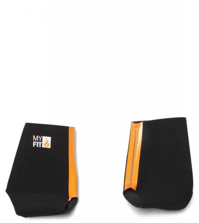 MyFit Footies Heel lock 2mm black S (34-37)