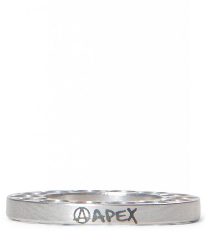 Apex Spacer Bar Riser silver raw 5mm