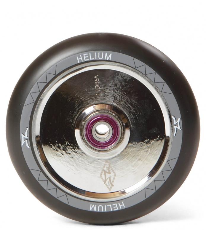 AO Wheel Helium 110er silver polished 110mm