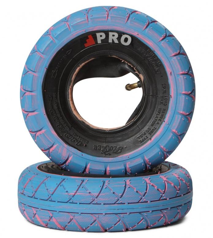 Rocker Tyres Street Pro Pair blue/black marble 260mm