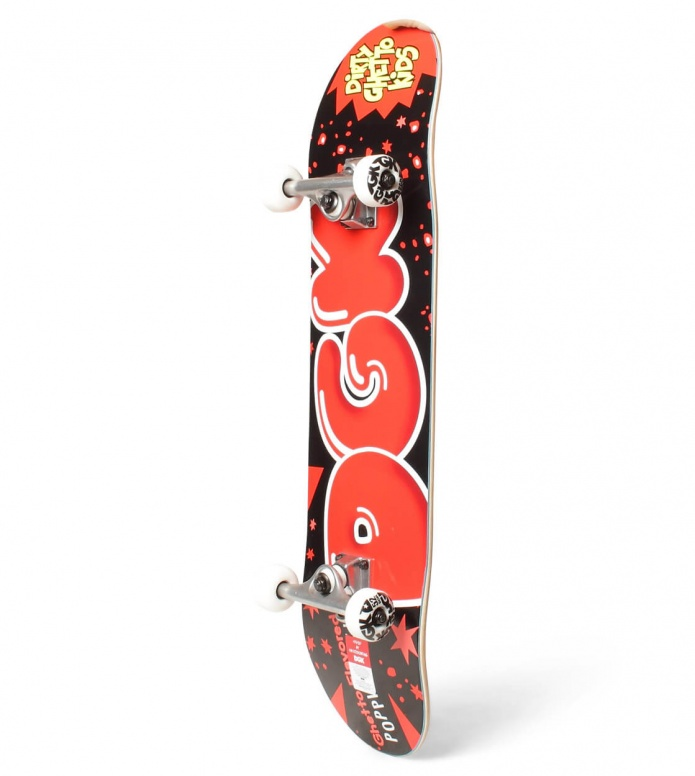 DGK DGK Complete Poppin red/black