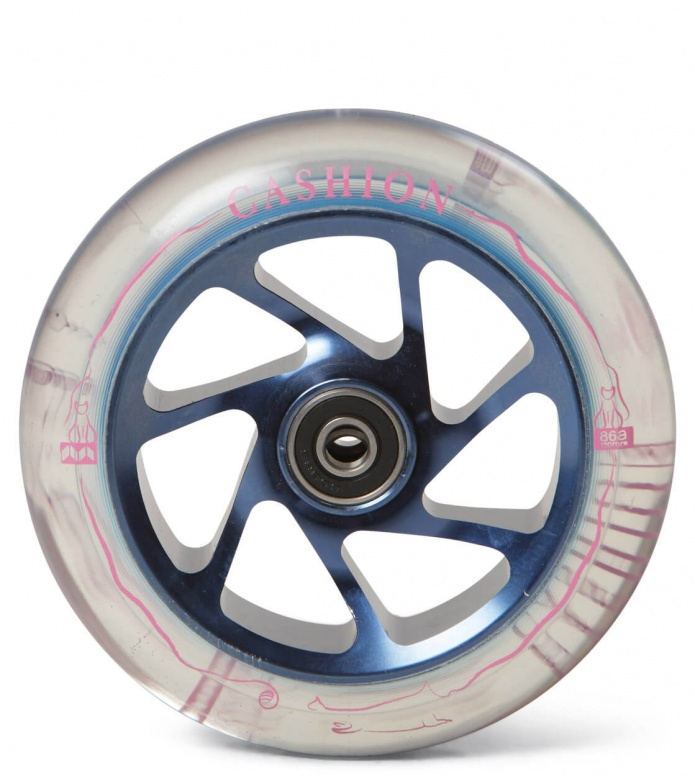 Tilt Wheel Meta Will Cashion 120er blue clear 120mm