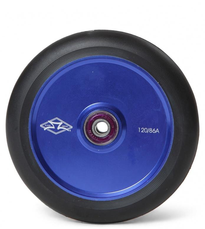 AO Wheel Helium 120er blue/black 120mm