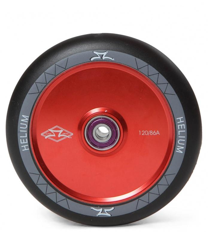 AO Wheel Helium 120er red/black 120mm