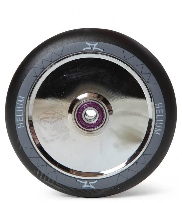 AO Wheel Helium 120er silver/black 120mm