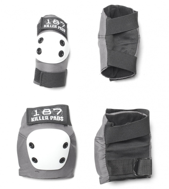 187 Killer Pads Combo Pack grey/white XS