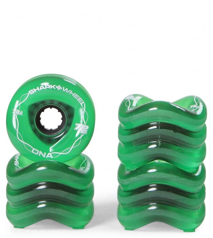 Shark Wheels DNA 72er green 72mm/78A