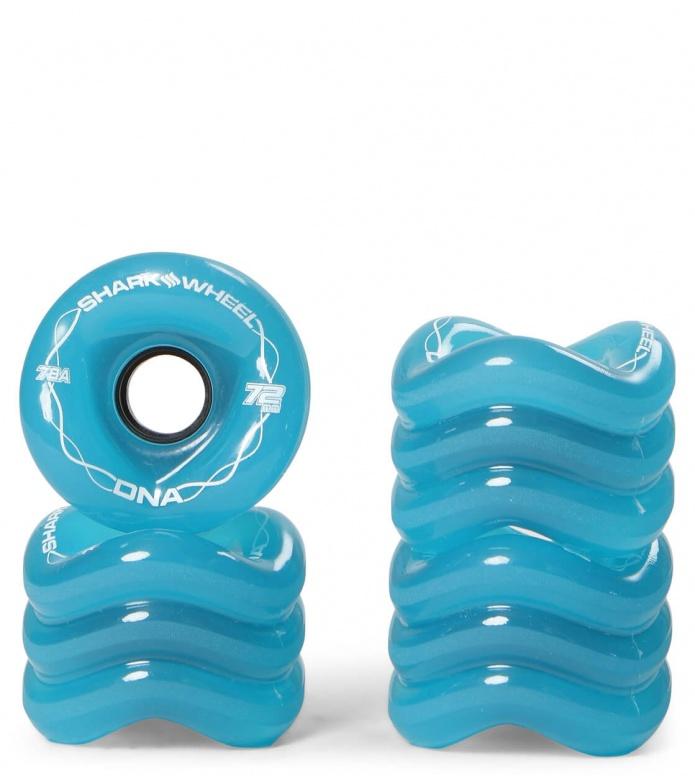 Shark Wheels DNA 72er blue 72mm/78A