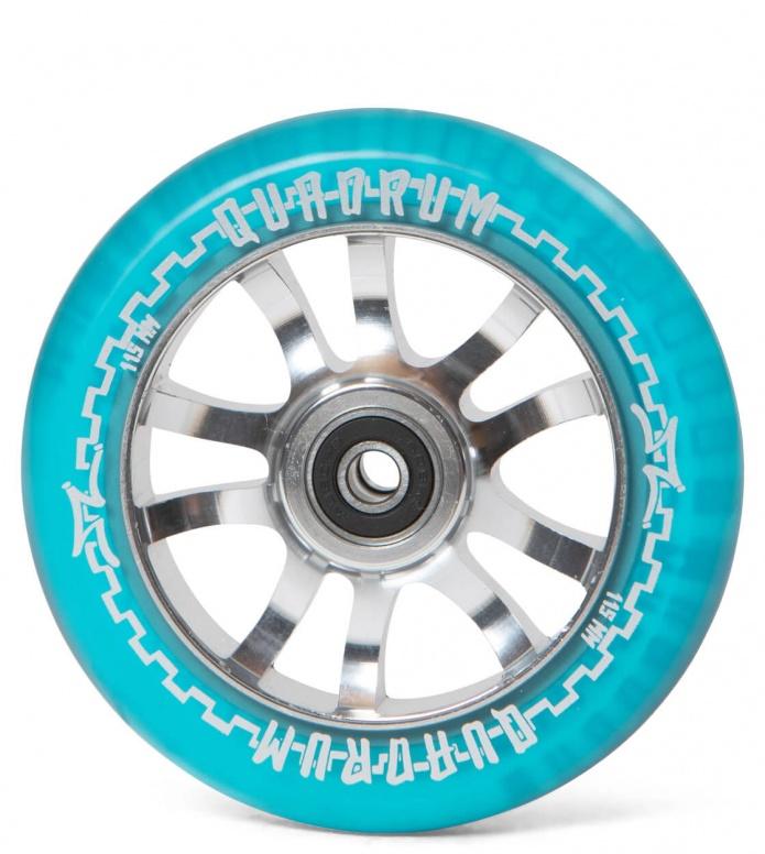 AO Wheel Quadrum Clear 115er blue 115mm