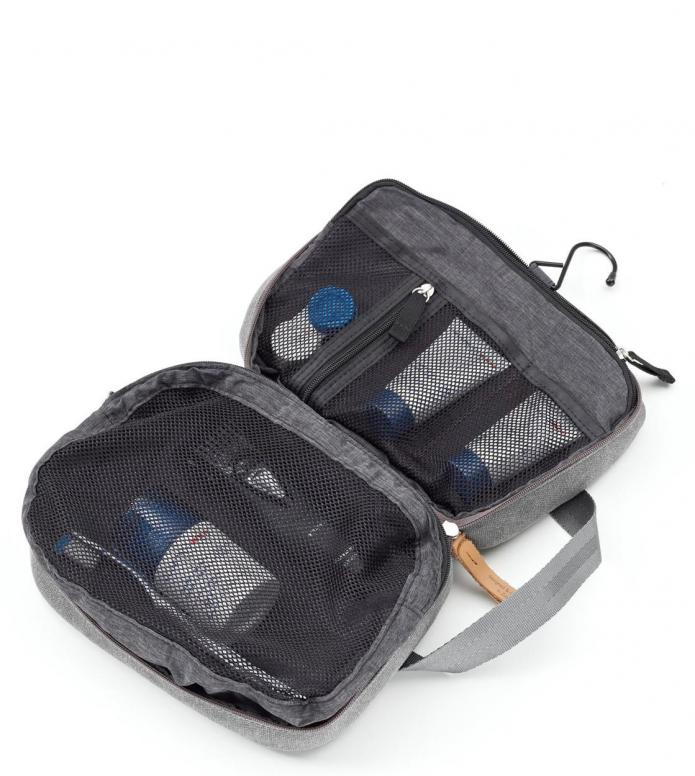 Qwstion Qwstion Washbag Toiletry Kit organic washed grey