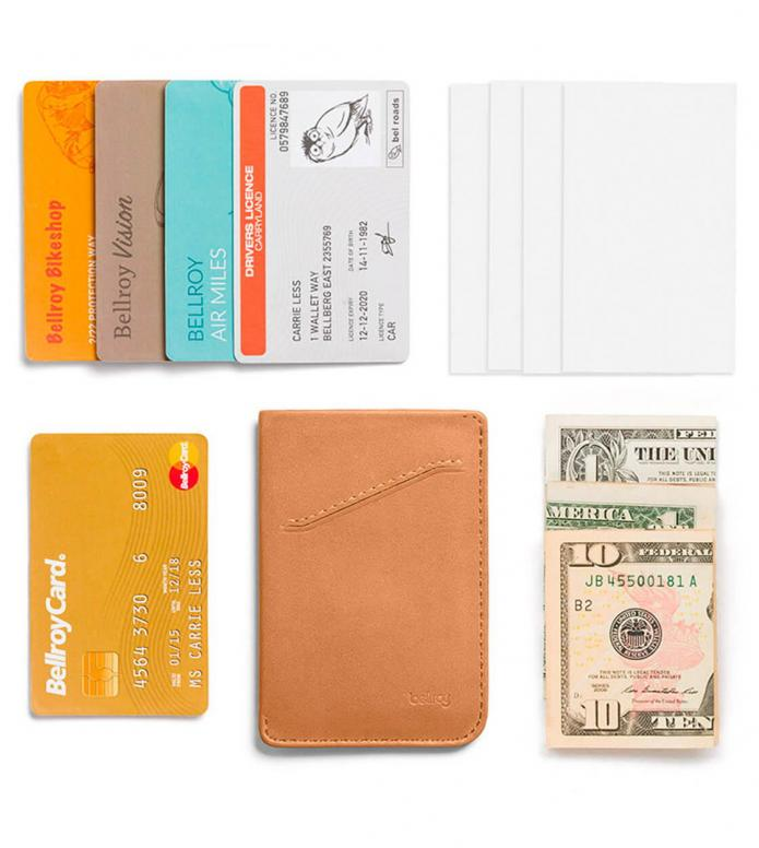 Bellroy Bellroy Wallet Card Sleeve brown tan