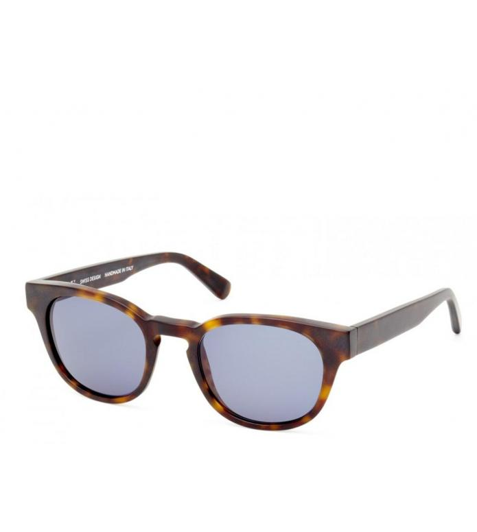 Viu Viu Sunglasses Player dunkles havanna matt blue
