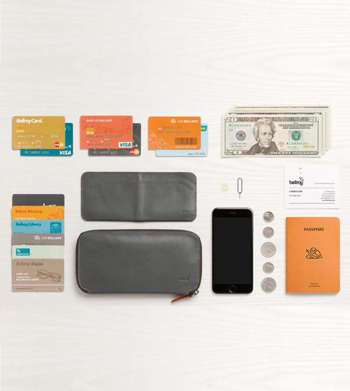 Bellroy Bellroy Wallet Carry Out grey charcoal