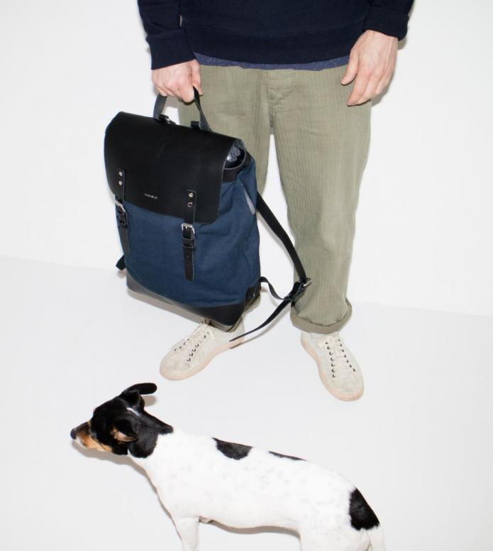 Sandqvist Sandqvist Backpack Hege blue
