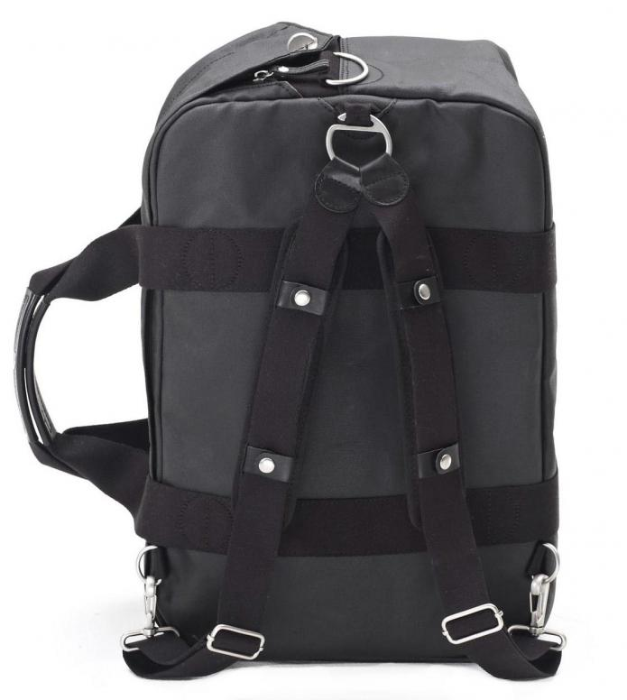 Qwstion Qwstion Bag Weekender organic jet black