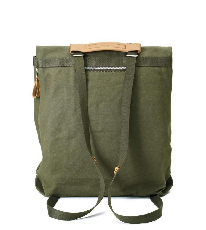 Qwstion Qwstion Bag Day Tote organic forest green