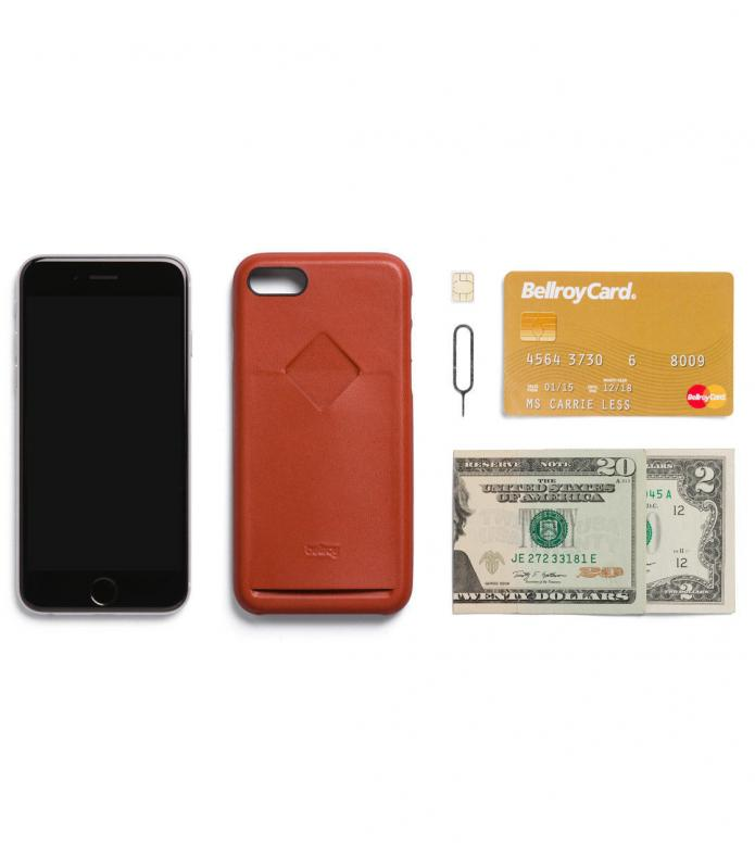 Bellroy Bellroy iPhone 7/8 Case 1 Card red tamarillo