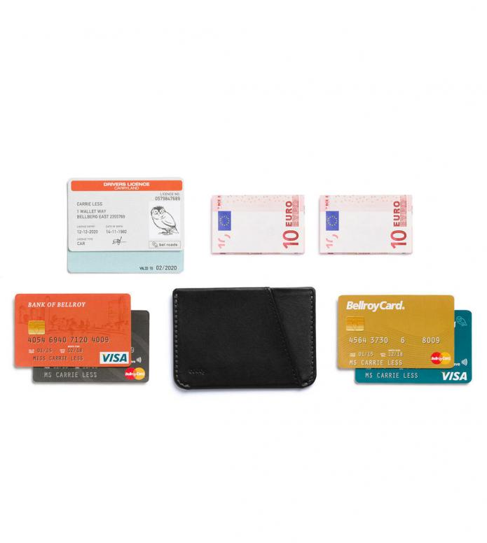 Bellroy Bellroy Wallet Micro Sleeve black