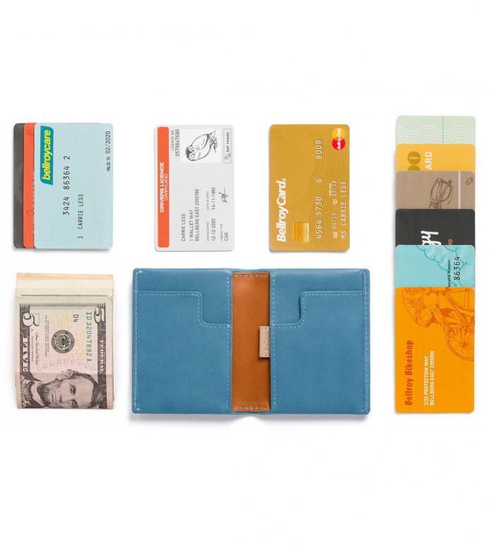 Bellroy Bellroy Wallet Slim Sleeve blue arctic