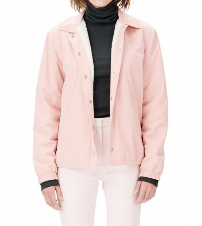 Wood Wood Wood Wood W Jacket Beverly pink peach beige