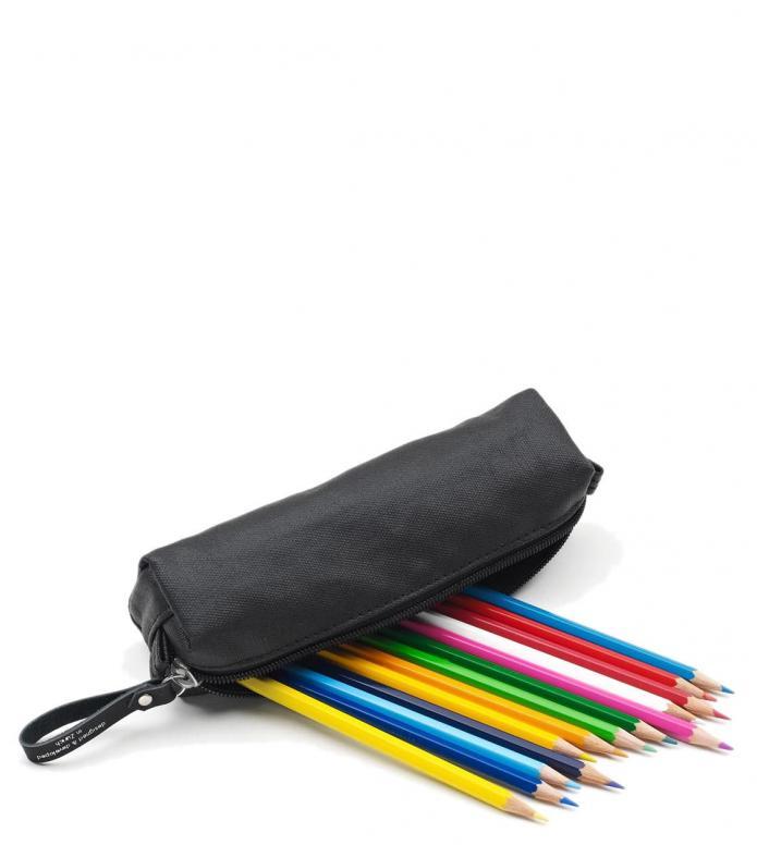 Qwstion Qwstion Pencil Case organic jet black