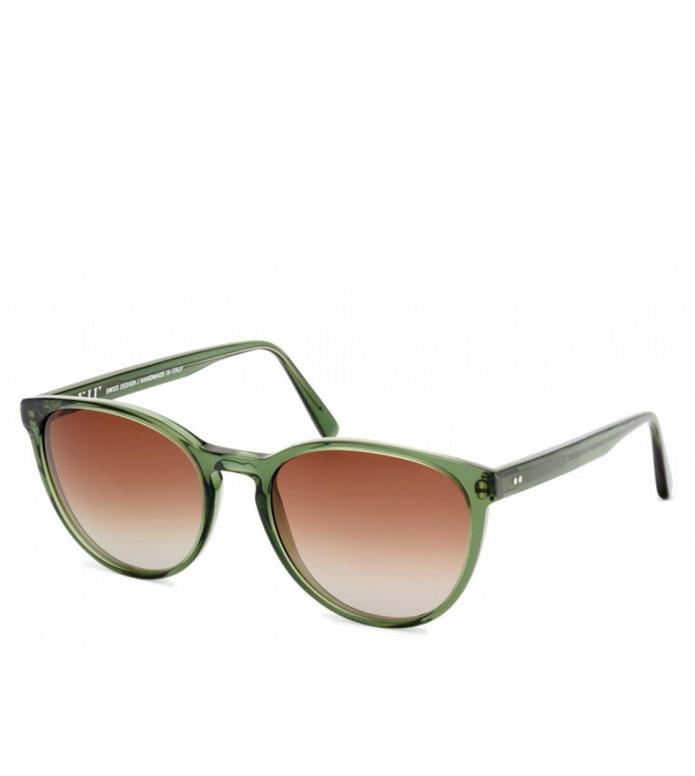 Viu Viu Sunglasses Cat pine green shiny