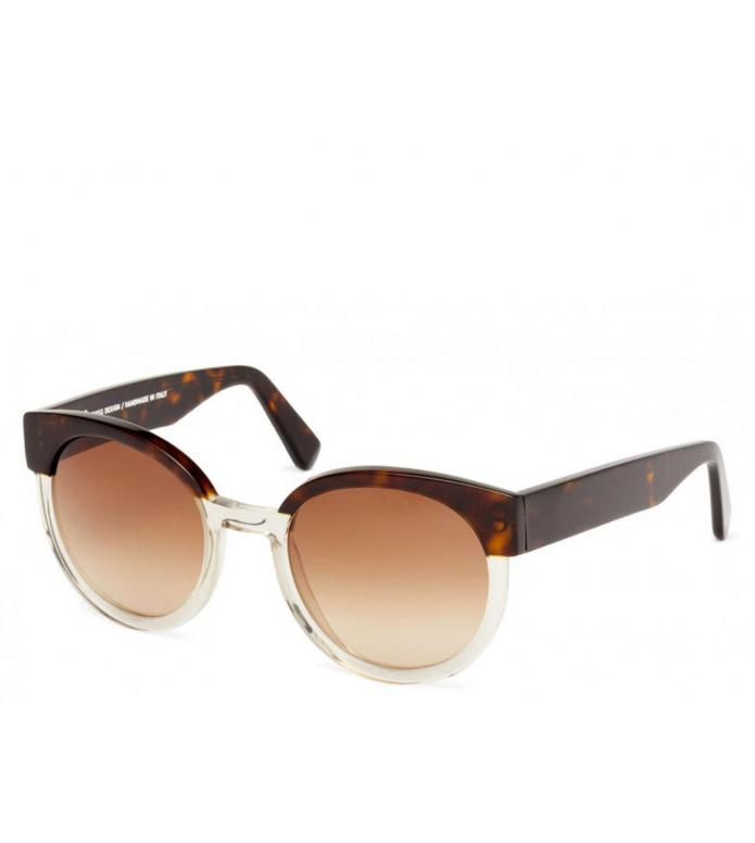 Viu Viu x House of Dagmar Sunglasses Greta dark havana ice shiny