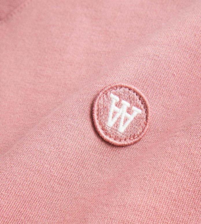 Wood Wood Wood Wood Sweater Tye pink dark rose