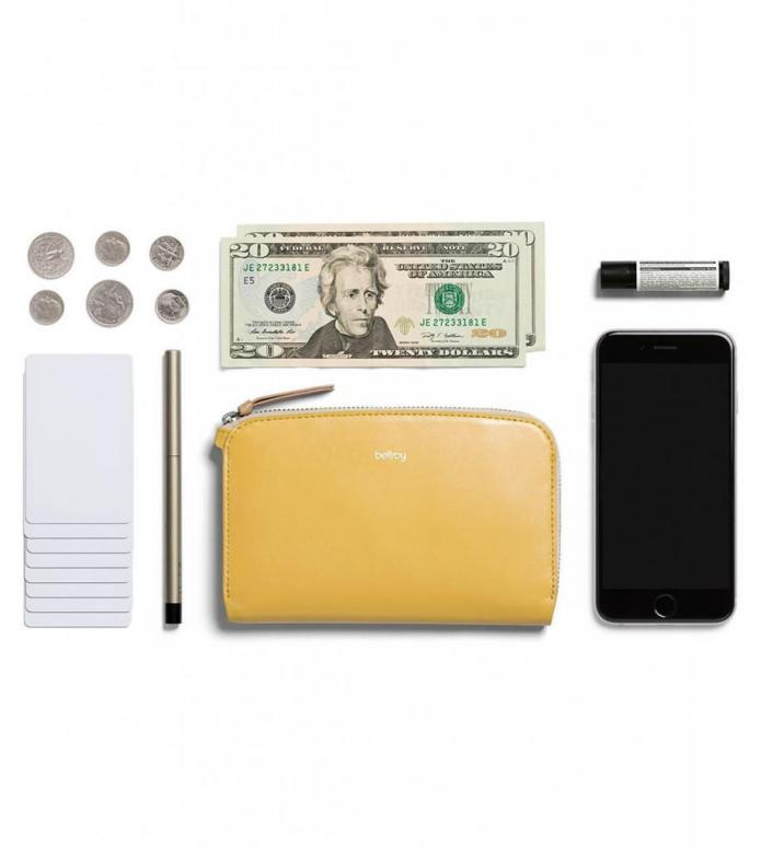 Bellroy Bellroy Wallet Pocket yellow lemon