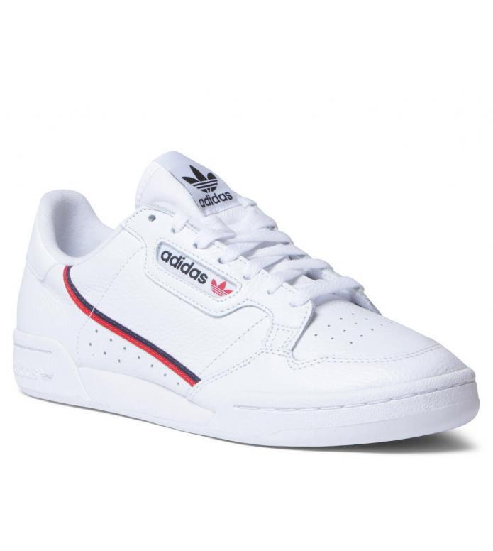 adidas Originals Adidas Shoes Continental 80 white footwear/scarlet/collegiate navy