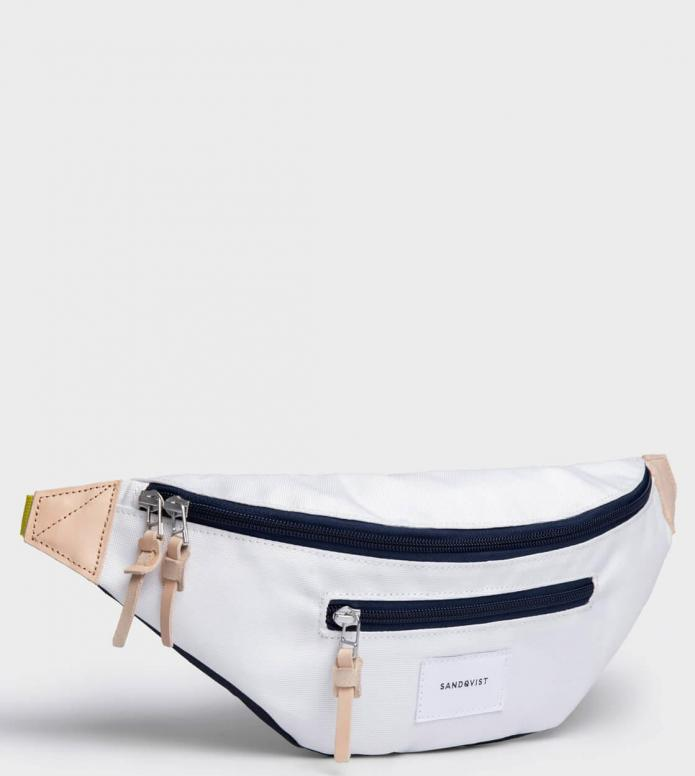 Sandqvist Sandqvist Bag Aste white off multi/blue